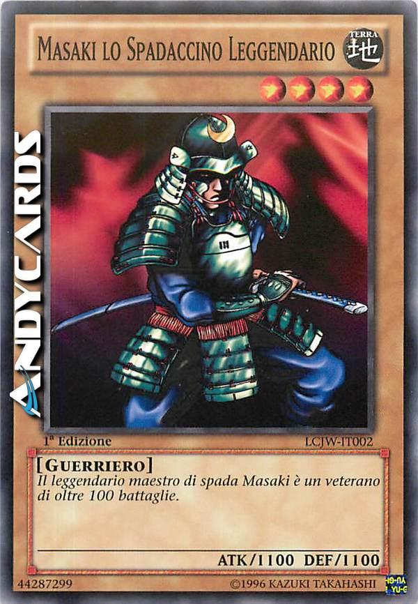 - MASAKI LO SPADACCINO LEGGENDARIO
