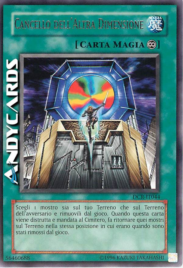 Terreno dell/'Altra Dimensione ☻ Ultra Rara ☻ BLLR IT079 ☻ YUGIOH ANDYCARDS