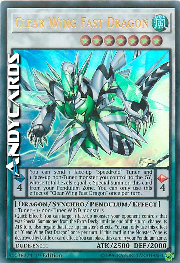 - CLEAR WING FAST DRAGON