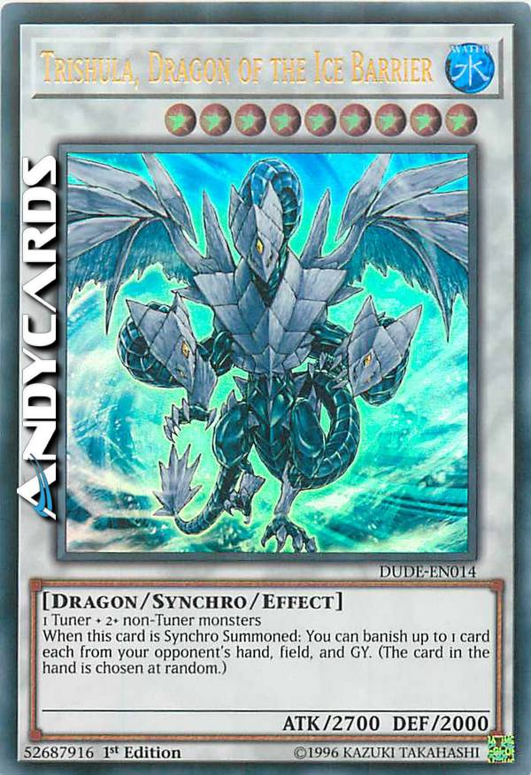 - TRISHULA, DRAGON OF THE ICE BARRIER