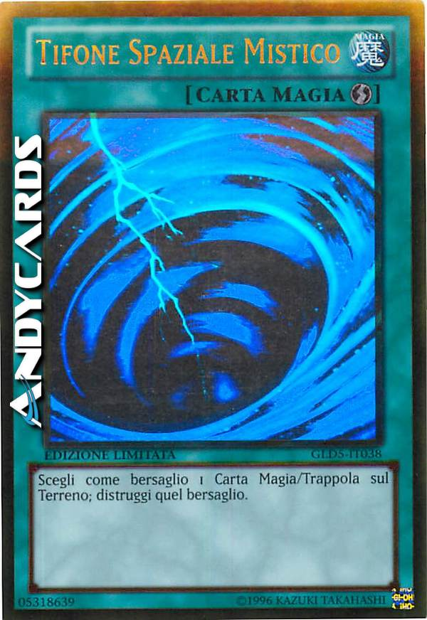 M//NM ☻ Tifone Spaziale Mistico ☻ Ghost ☻ GLD5 IT038 ☻ YUGIOH ANDYCARDS