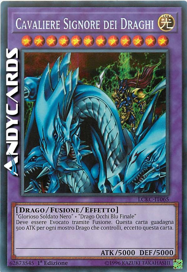 Castello Delle Anime Drago LCKC-IT051 MINT Ultra Rara