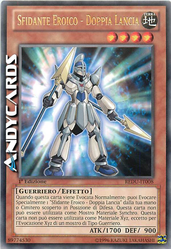 Double Summon DOPPIA EVOCAZIONE ANDYCARDS • Rara Verde • DL17 IT017 • Yugioh