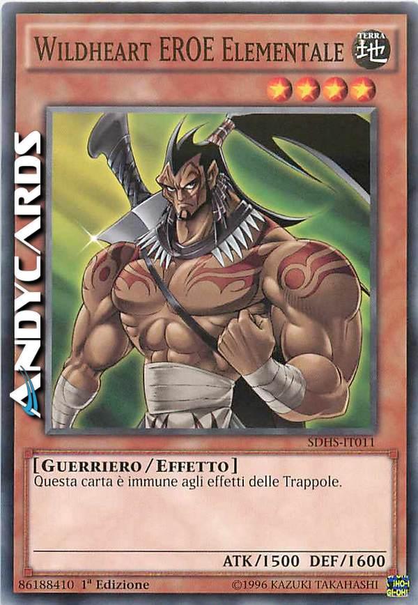 Yu-Gi-Oh! Comune Attacco degli Eroi SDHS-IT015 Truppa Della Carta 1st Edition